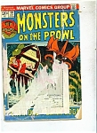 Monsters on the Prowl comic book - # 19, October 1972