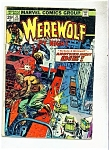 Werewolf by Night comic book - # 21 September 1974