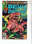 Devil Dinosaur Comics -  # 8 November 1978