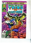 Click here to enlarge image and see more about item M1205: The Thing and Giant Man comic - # 55 Sept. 1979