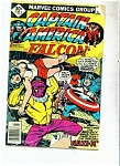 Click here to enlarge image and see more about item M1210: Captain America and Falcon comic - # 211 July 1977