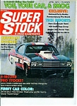Click here to enlarge image and see more about item M1225: Super Stock & drag illustrated magazine - April 1973