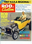 Click here to enlarge image and see more about item M1228: Rod & Custom Magazine - August 1972