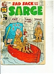 Sad Sack and the SArge COMIC - # 75  jUNE 1969