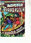 The Monster of Frankenstein comic - # 5  September 1973