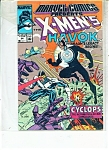 X-Men's Havok -   # 24    July 1989