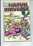 Marvel Universe -  # 1   December 1985