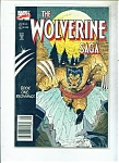 The Wolverine Saga comic -  # 1   1989