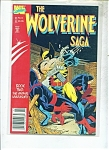 The Wolverine Saga  comic -  # 2   1989