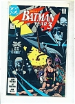 Batman, year 3 comic -  # 436  1989