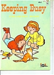 Keeping Busy coloring book -  # 2907