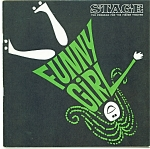 Click here to enlarge image and see more about item M1681: Fisher stage program - Funny Girl 1966