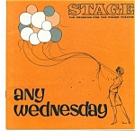 Click here to enlarge image and see more about item M1689: Fisher Stage program - Any Wednesday - 1965