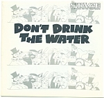Click here to enlarge image and see more about item M1696: Fisher Stage Progra m - Don't Drink the Water - 1969