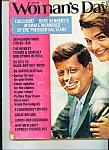 Woman's Day - John & Jackie Kennedy - 1974