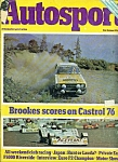Click here to enlarge image and see more about item M1761: Autosport  magazine  - October 21, 1976