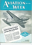 Aviation Week Magazine -  Jan. 19, 1950