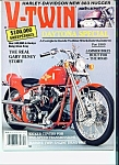 Click here to enlarge image and see more about item M1802: V-Twin Magazine - April 1989  Daytona Special