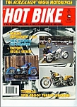 Hot Bike Magazine -  May 1989