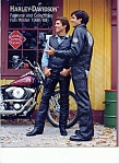 Click here to enlarge image and see more about item M1843: Harley Davidson Fashions & collectibles magazines 1988-