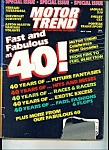 Click here to enlarge image and see more about item M1857: Motor Trend Magazine - May 1989