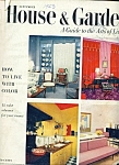 House & Garden magazine - September 1953