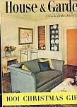 House & Garden magazine - November  1953