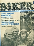 Click here to enlarge image and see more about item M1918: BIKER - Motorcycle magazine newspaper - Dec. 15, 1976
