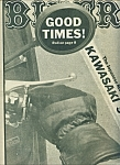 Click here to enlarge image and see more about item M1924: BIKER - Motorcycle magazine newspaper -  May 31, 1978