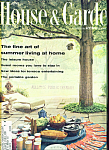 Click to view larger image of House & Garden Magazine - June 1962 (Image1)