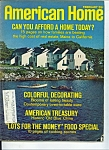 Click here to enlarge image and see more about item M2030: American Home Magazine - February 1970