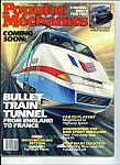 Popular Mechanics September 1986