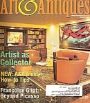 Click here to enlarge image and see more about item M2158G:  ART  &  ANTIQUES  magazine   January2003