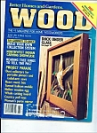 Click here to enlarge image and see more about item M2241: Wood  magazine- June 1991