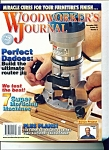 Click here to enlarge image and see more about item M2259: Woodworker's Journal - December 2001