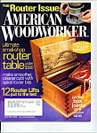 Click here to enlarge image and see more about item M2368: American Woodworker - March 2005