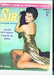 SIR! - Male magazine - April 1957