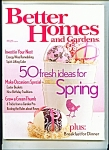 Better Homes & Gardens -  April 2006