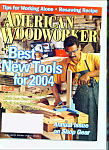 Click here to enlarge image and see more about item M2416: American Woodworker - November 2003