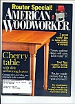 Click here to enlarge image and see more about item M2421: American woodworker - March 2006