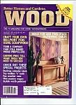 Wood magazine - August 1991