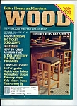 Wood magazine -  September 1991