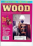 Click here to enlarge image and see more about item M2436: wood Magazine -  April 1994