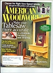 Click here to enlarge image and see more about item M2948: American Woodworker -  October 2006