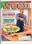 Wood Magazine - April 1995