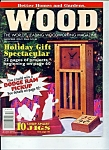 Wood Magazine -Better Homes & Gardens - Dec. 1995