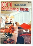 Click here to enlarge image and see more about item M2600: 1001 Decorating ideas -  May / June