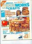 Click here to enlarge image and see more about item M2665: Creative Woodworks &  Crafts -  August 1994