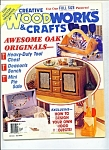 Click here to enlarge image and see more about item M2668: Creative woodworks & crafts magazine -  February 1994