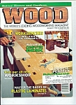Wood magazine - August 1995